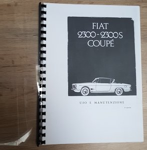 Instruction book copie 2300S coupe
