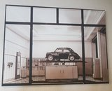 Klassieke auto reproducties op canvas 90 x 120 cm !_