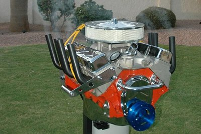 Hot Rod V8 Grill Barbecue