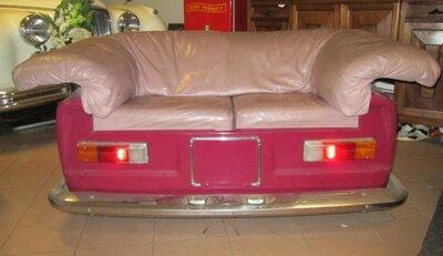 Alfa Romeo Giulia bankje